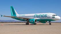 VP-CYE - Flynas Airbus A319 aircraft