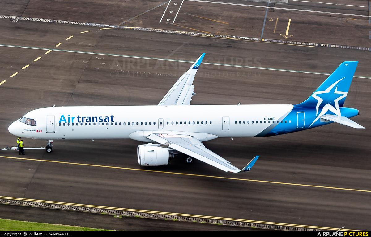 Air Transat C-GOIE aircraft at Martinique - Aimé Césaire