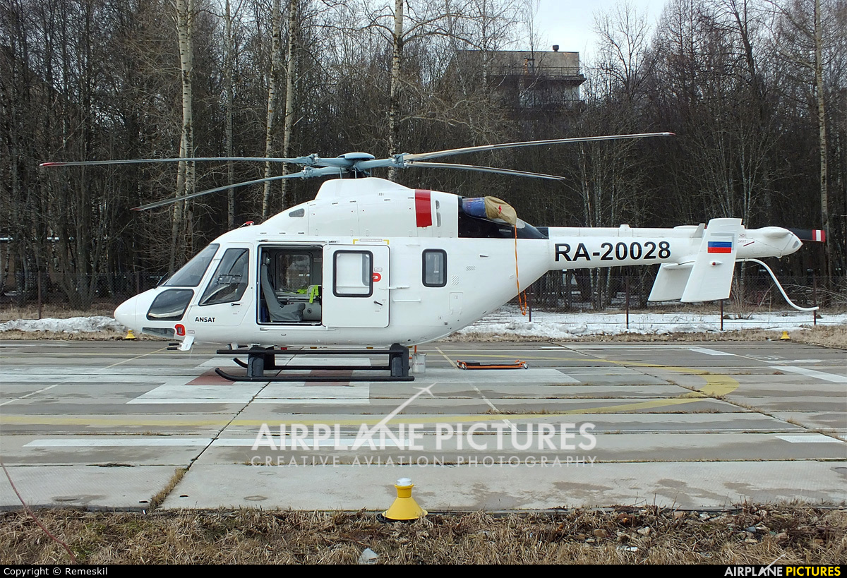 Russian Helicopters RA-20028 aircraft at Nizhniy Novgorod