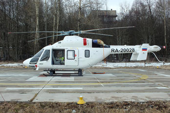 RA-20028 - Russian Helicopters Kazan helicopters Ansat