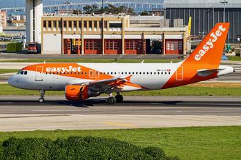 HB-JYF - easyJet Switzerland Airbus A319