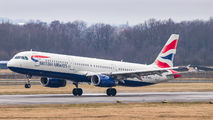 G-MEDU - British Airways Airbus A321 aircraft