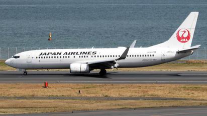 JA313J - JAL - Japan Airlines Boeing 737-800