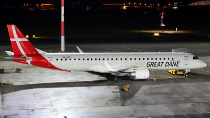 OY-GDC - Great Dane Airlines Embraer ERJ-195 (190-200)