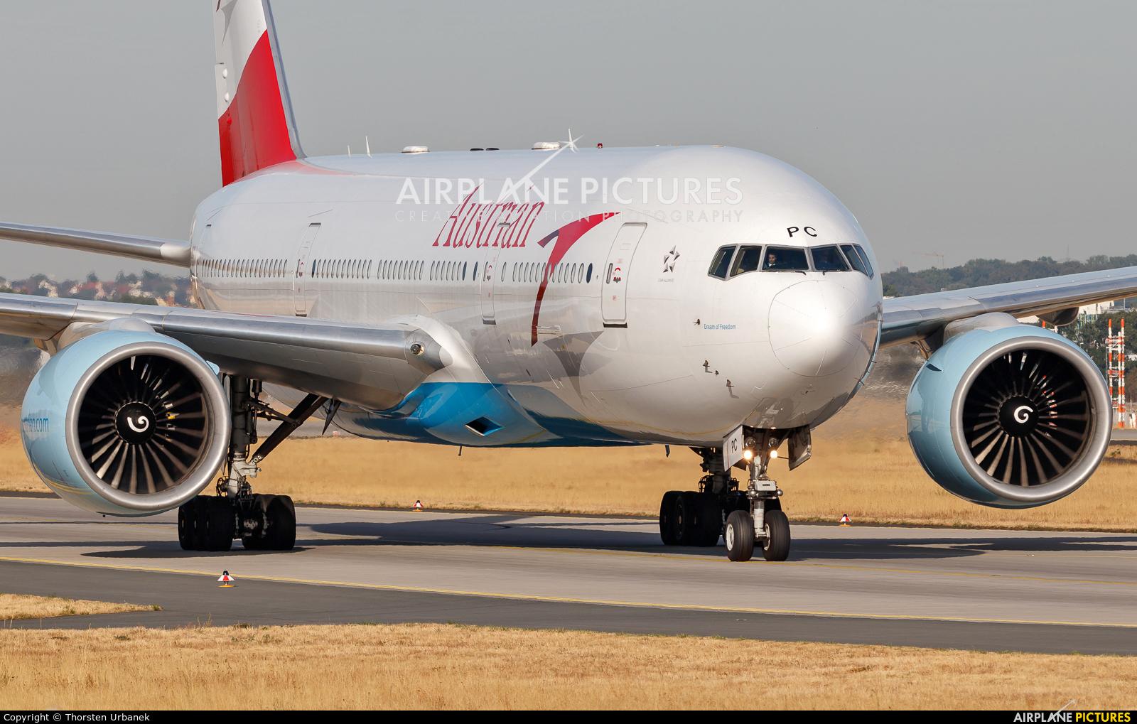 Austrian Airlines/Arrows/Tyrolean OE-LPC aircraft at Frankfurt