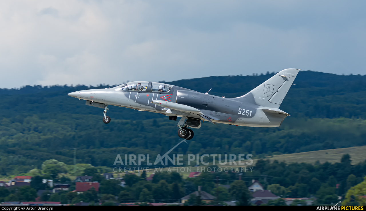 Slovakia -  Air Force 5251 aircraft at Sliač