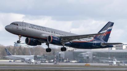 VQ-BAX - Aeroflot Airbus A320