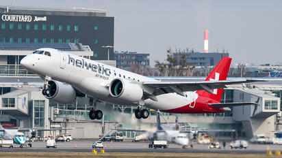 HB-AZC - Helvetic Airways Embraer ERJ-190-E2