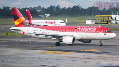 N763AV - Avianca Airbus A320