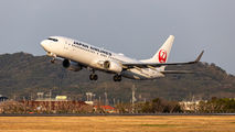 JA329J - JAL - Japan Airlines Boeing 737-800 aircraft