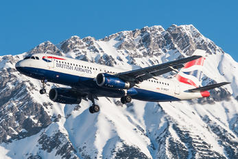 G-MIDY - British Airways Airbus A320