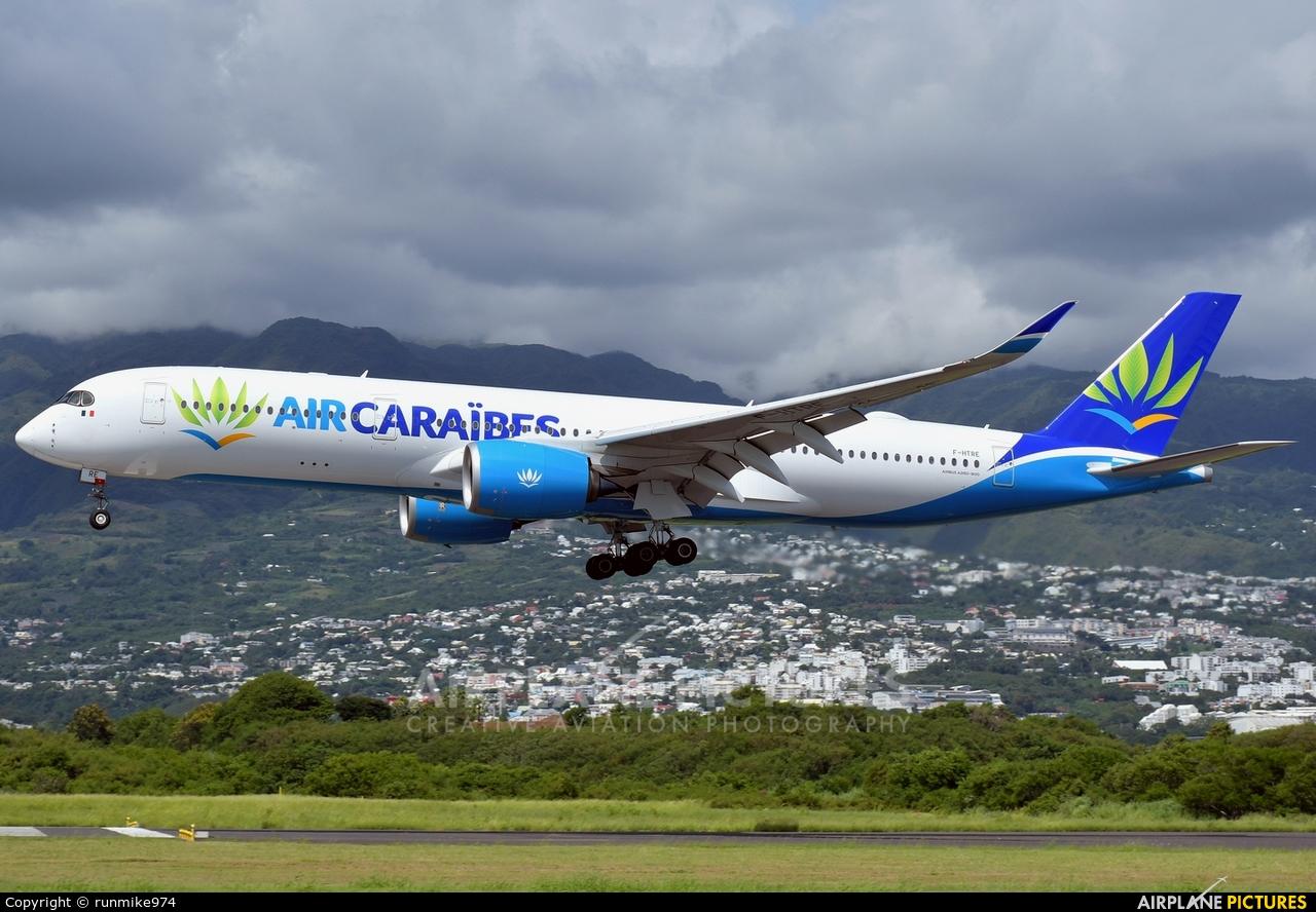 Air Caraibes F-HTRE aircraft at Roland Garros - Saint-Denis