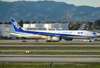 JA777A - ANA - All Nippon Airways Boeing 777-300ER