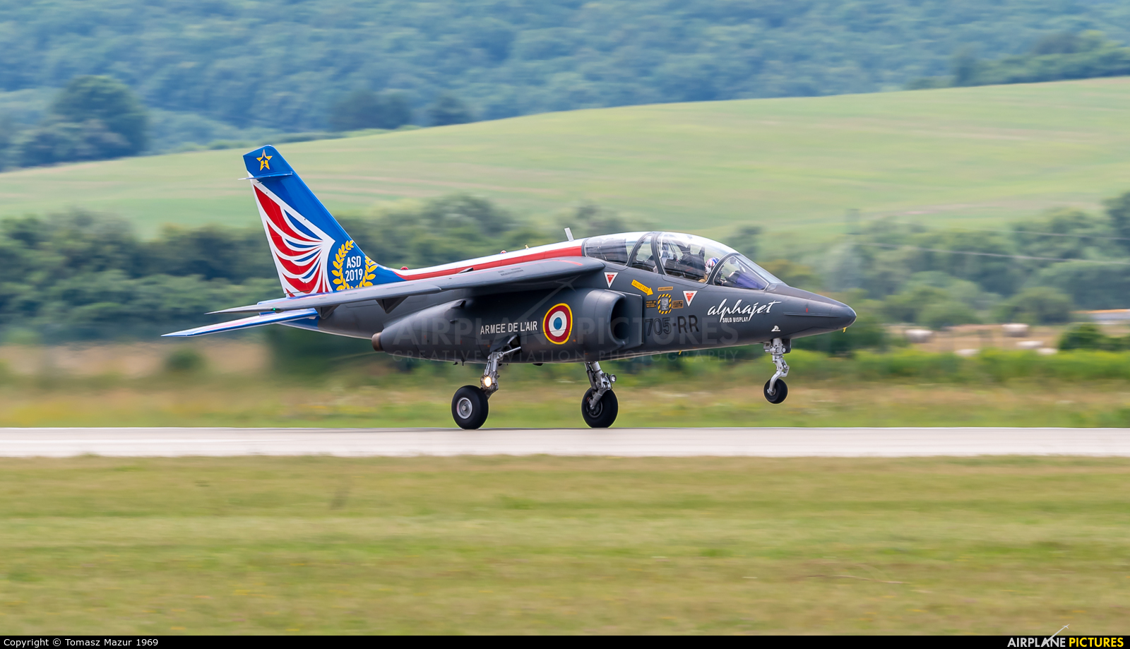 France - Air Force 705-RR aircraft at Sliač
