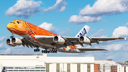 JA383A - ANA - All Nippon Airways Airbus A380