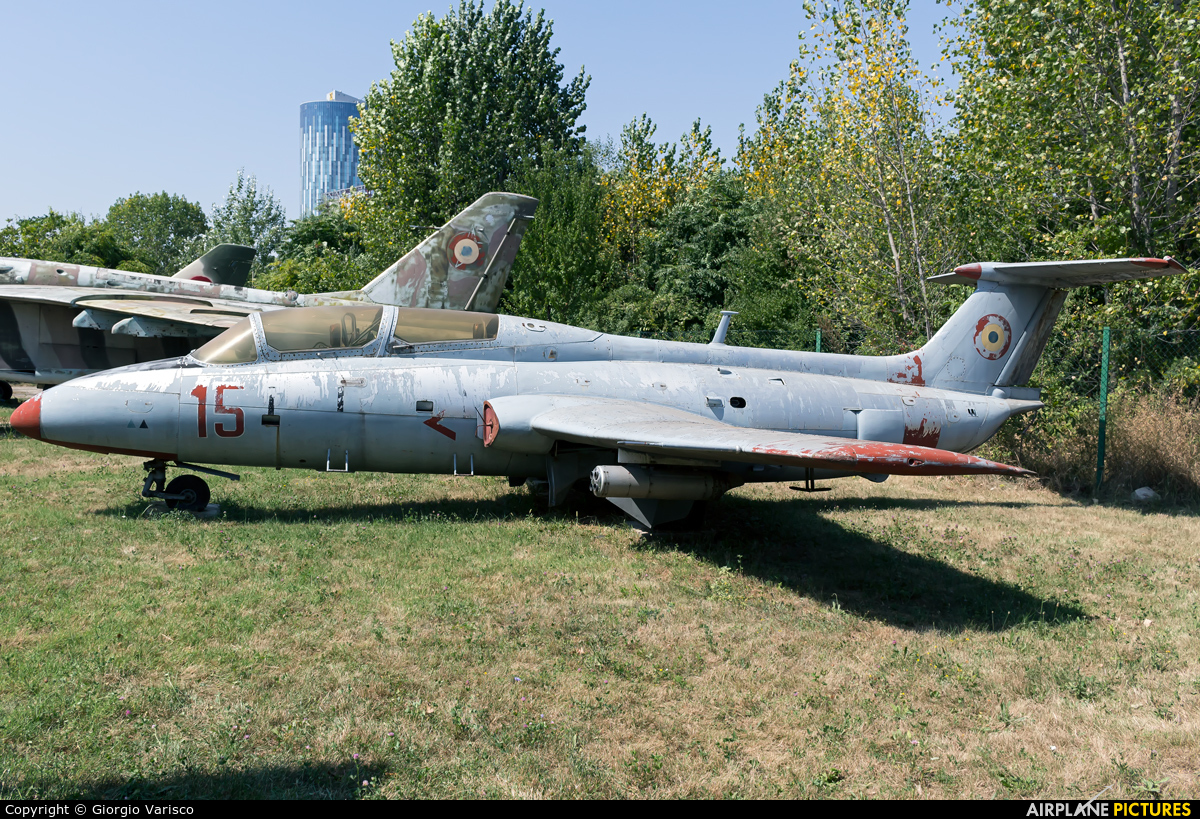 Romania - Air Force 15 aircraft at Bucharest - Romanian AF Museum