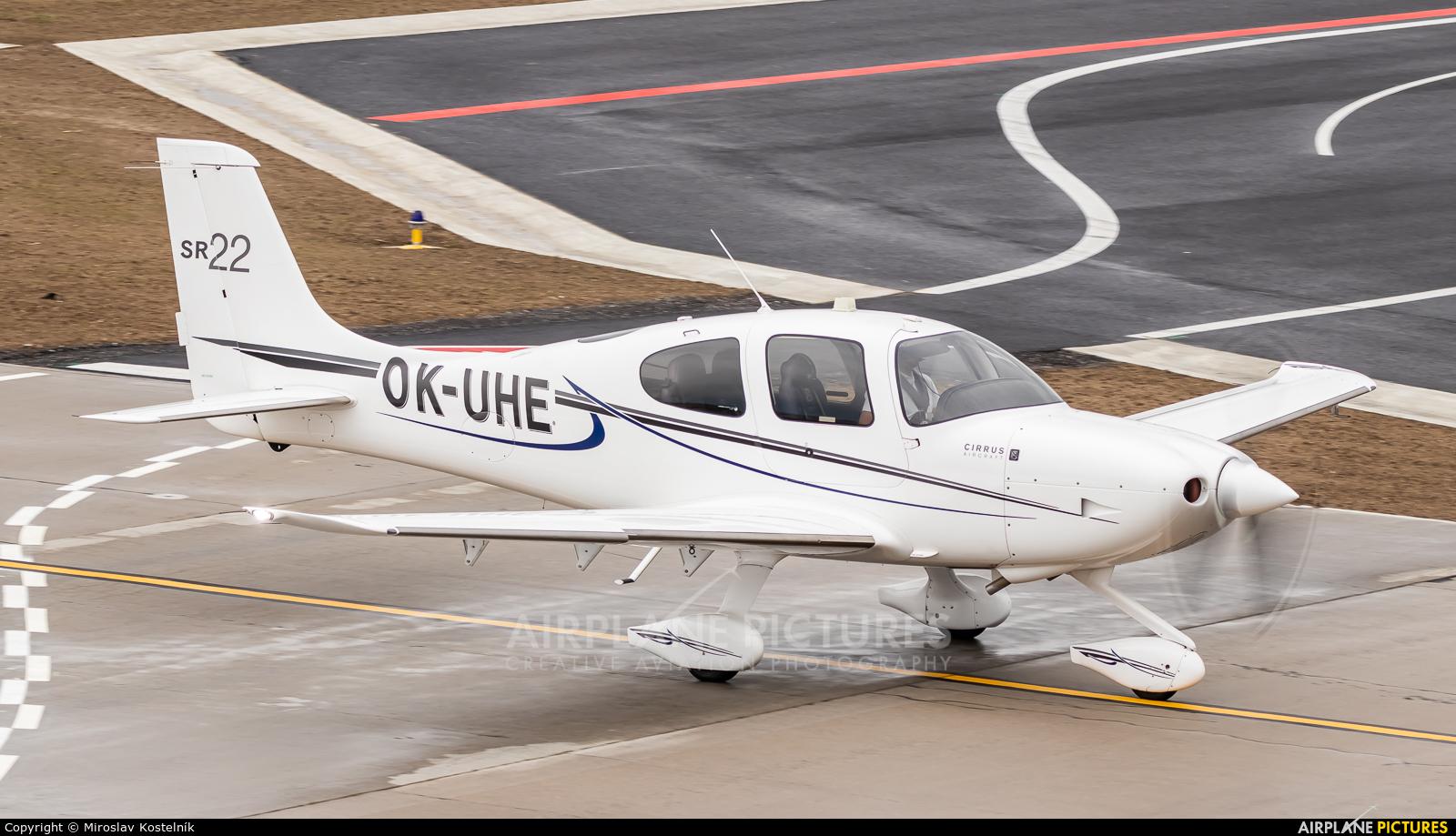 Private OK-UHE aircraft at Ostrava Mošnov