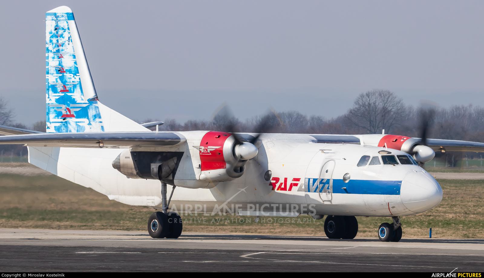 RAF Avia YL-RAC aircraft at Ostrava Mošnov