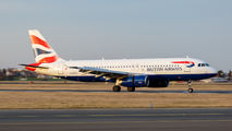 G-EUYA - British Airways Airbus A320 aircraft