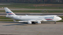 VP-BCV - Silk Way Airlines Boeing 747-400F, ERF aircraft