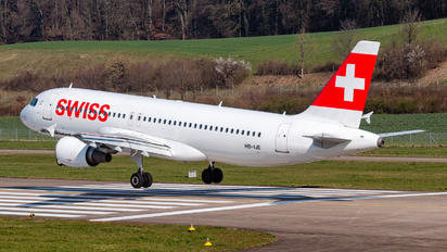 HB-IJE - Swiss Airbus A320