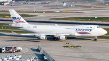 Silk Way Boeing 747F visited Zurich title=