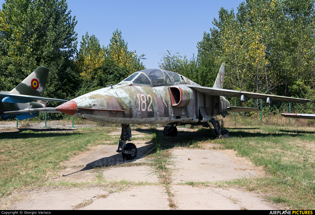 Romania - Air Force 182 aircraft at Bucharest - Romanian AF Museum