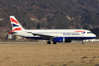 G-EUYN - British Airways Airbus A320