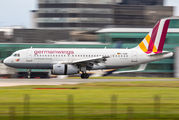 D-AGWC - Germanwings Airbus A319 aircraft