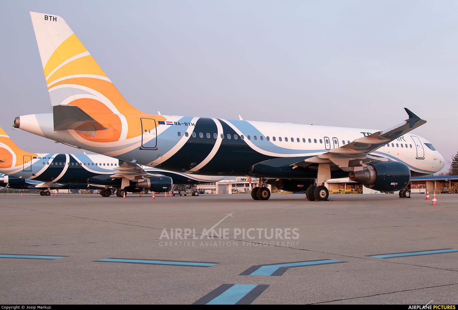 Trade Air 9A-BTH aircraft at Zagreb