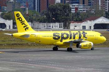 N508NK - Spirit Airlines Airbus A319
