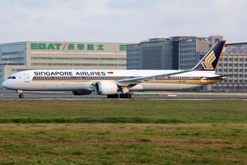 9V-SCD - Singapore Airlines Boeing 787-10 Dreamliner