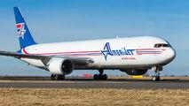 Amerijet Boeing 767 visited Prague  title=