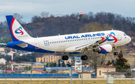 VP-BTZ - Ural Airlines Airbus A320 aircraft