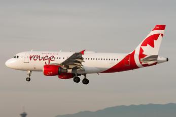 C-GBIM - Air Canada Rouge Airbus A319