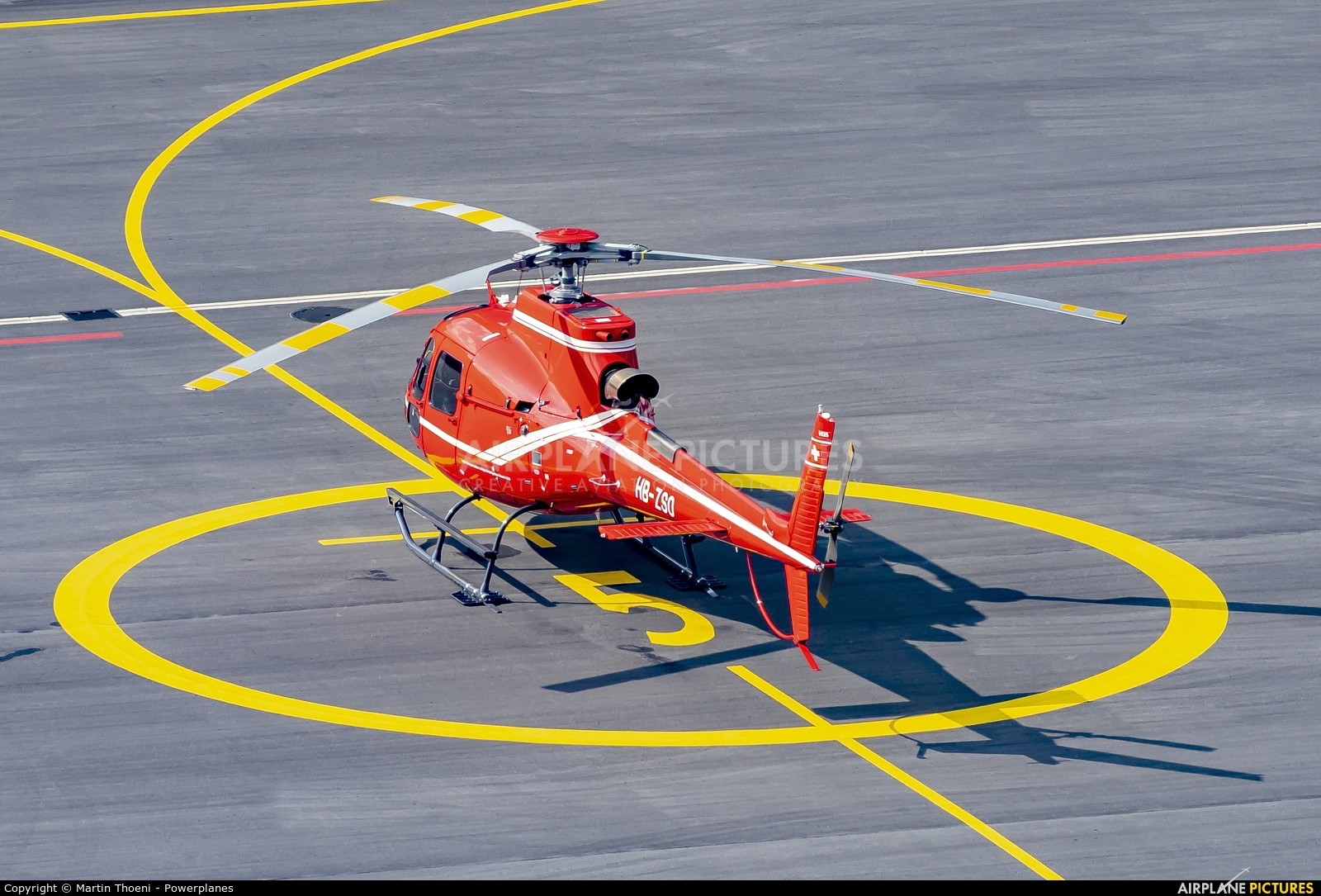 Swiss Federal Office for Civil Aviation HB-ZSO aircraft at Alpnach