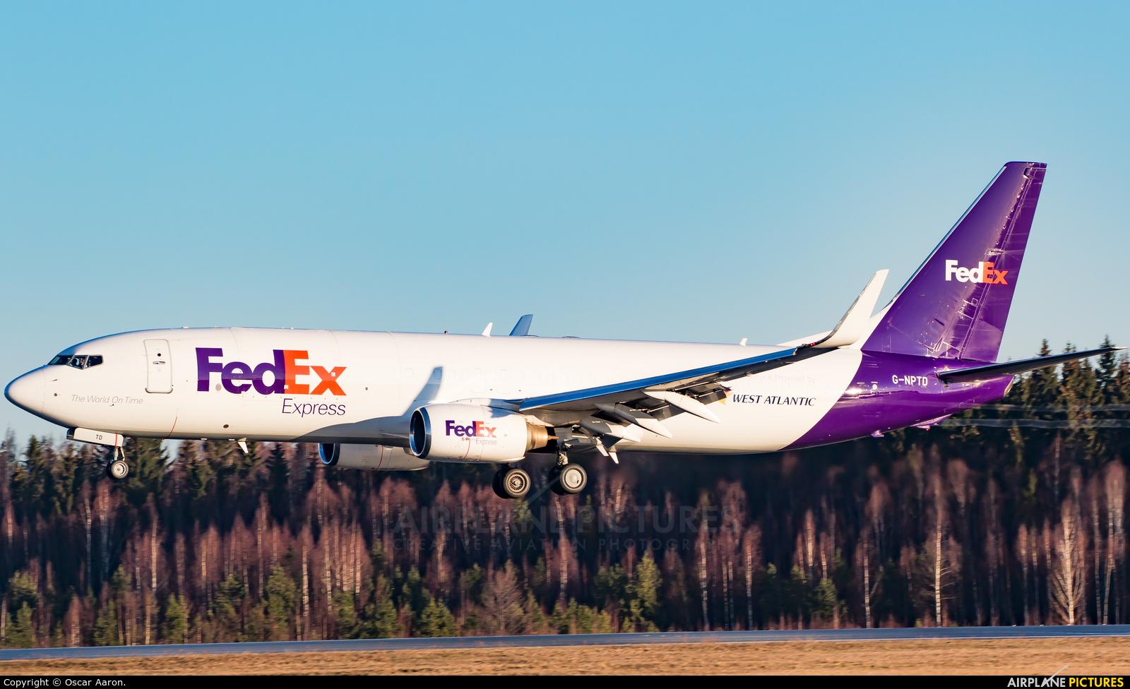 FedEx Federal Express G-NPTD aircraft at Helsinki - Vantaa