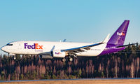 G-NPTD - FedEx Federal Express Boeing 737-800 aircraft