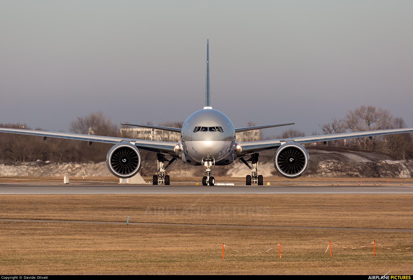 Qatar Airways A7-BEL aircraft at Munich