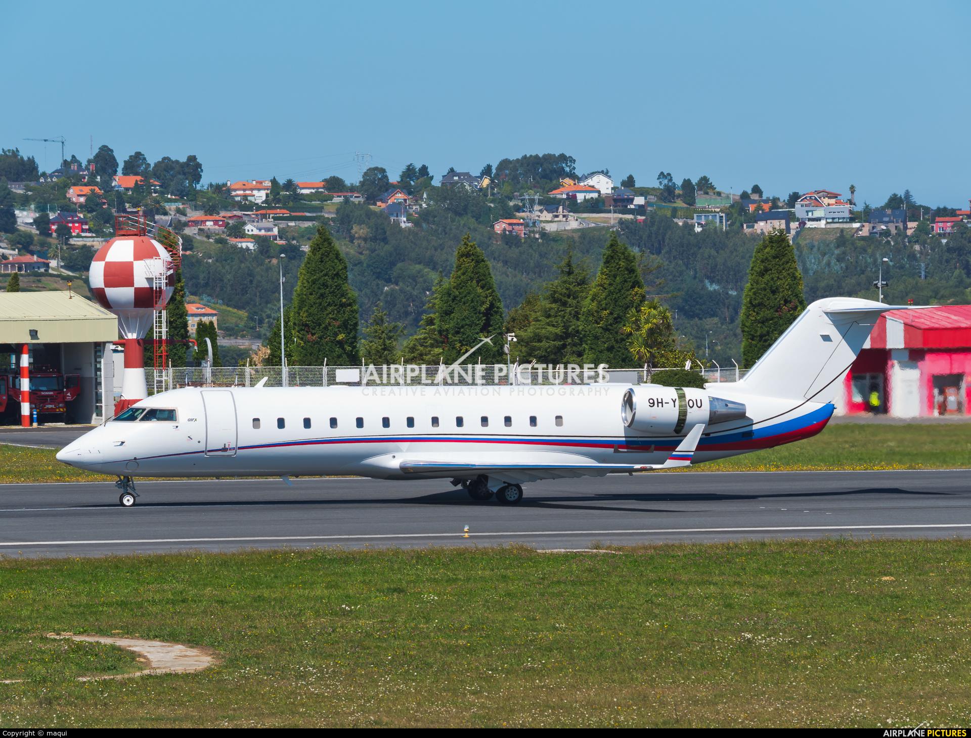 Air X 9H-YOU aircraft at La Coruña