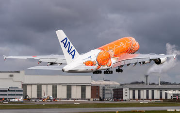 F-WWAL - ANA - All Nippon Airways Airbus A380
