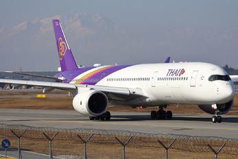 HS-THJ - Thai Airways Airbus A350-900