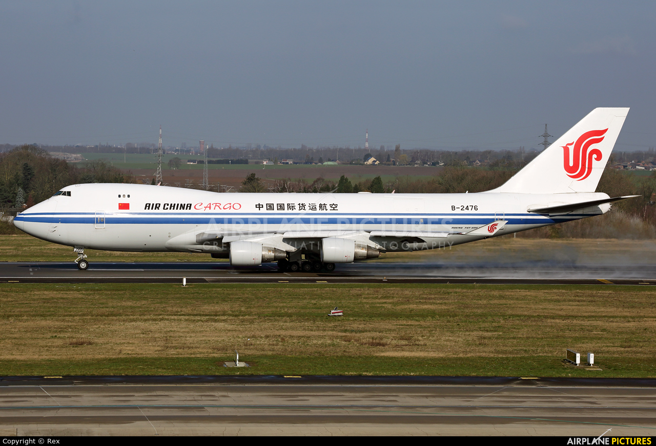 Air China Cargo B-2476 aircraft at Liège-Bierset