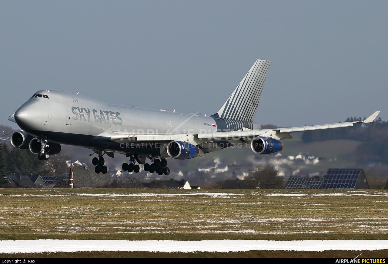 Sky Gates Airlines VP-BCI aircraft at Frankfurt - Hahn