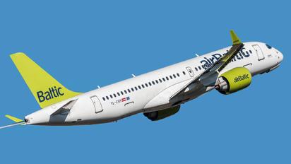 YL-CSH - Air Baltic Bombardier CS300