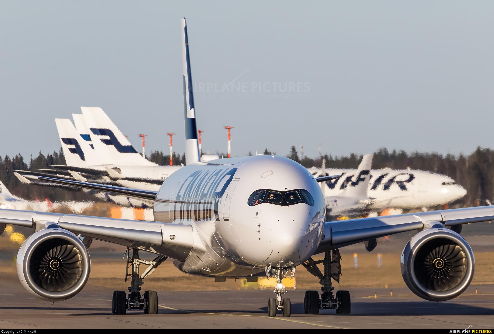 Finnair OH-LWP aircraft at Helsinki - Vantaa