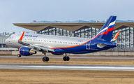 VP-BTC - Aeroflot Airbus A320 aircraft