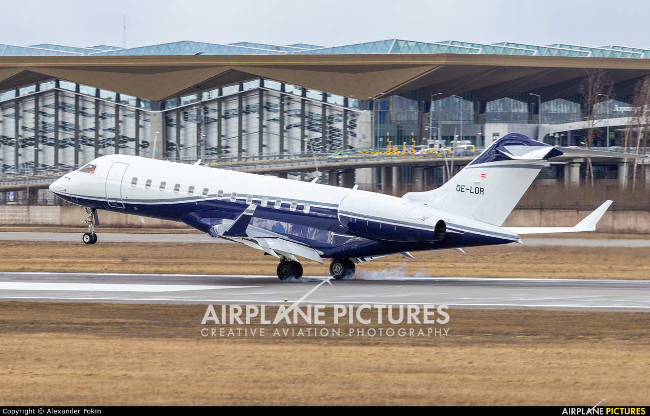 Avcon Jet OE-LDR aircraft at St. Petersburg - Pulkovo
