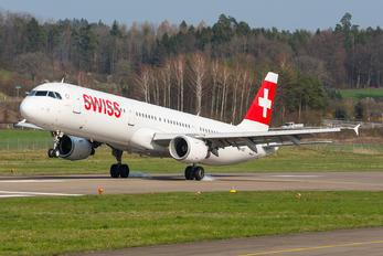 HB-IOC - Swiss Airbus A321
