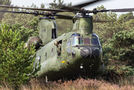 Netherlands - Air Force Boeing CH-47D Chinook D-661 at Eindhoven airport